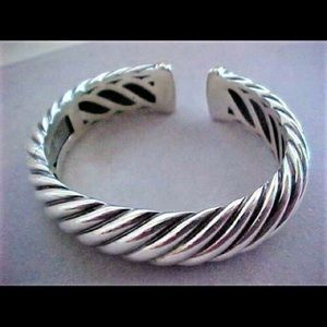 David Yurman 18k gold and silver bracelet